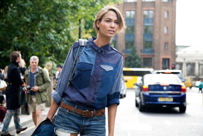 Мода весна 2016: стиль печворк (street style)