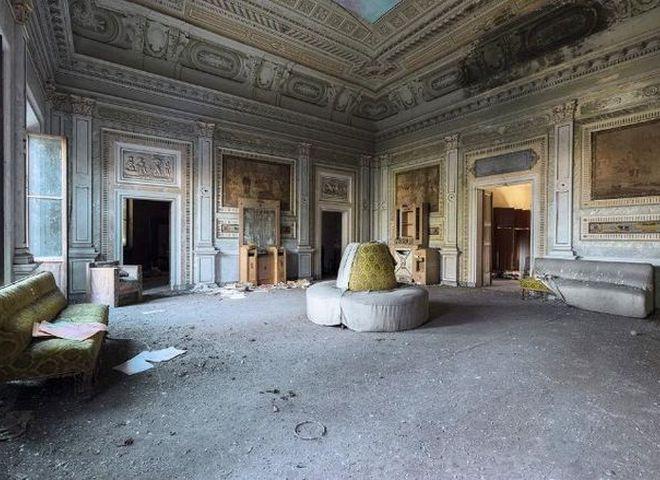 Заброшенные виллы Италии: впечатляющий фотопроект