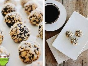 Трюфельные конфеты финик&миндаль
