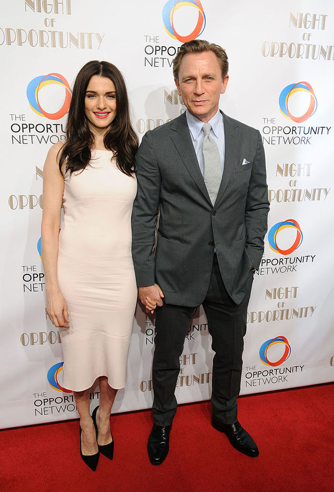 Дэниел Крейг с супругой