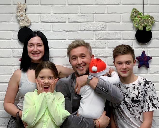 Семья Сергея и Снежаны Бабкиных