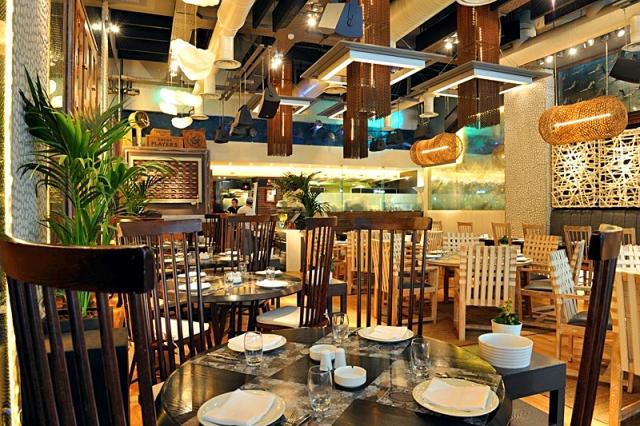 Достопримечательности Салоники: Ресторан 7 Thalasses.