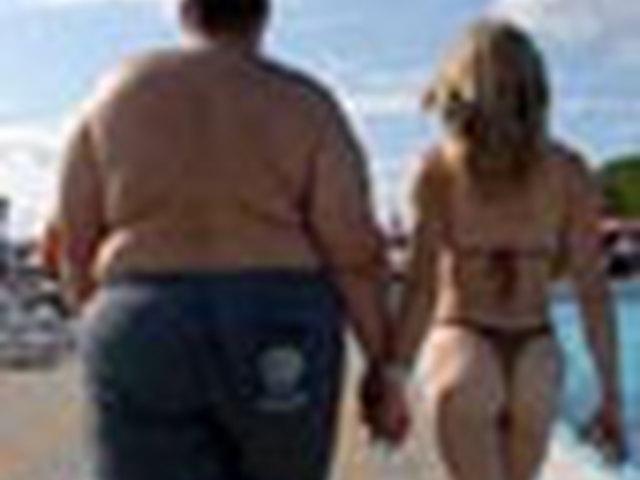 справиться толстый мужик и худая опять