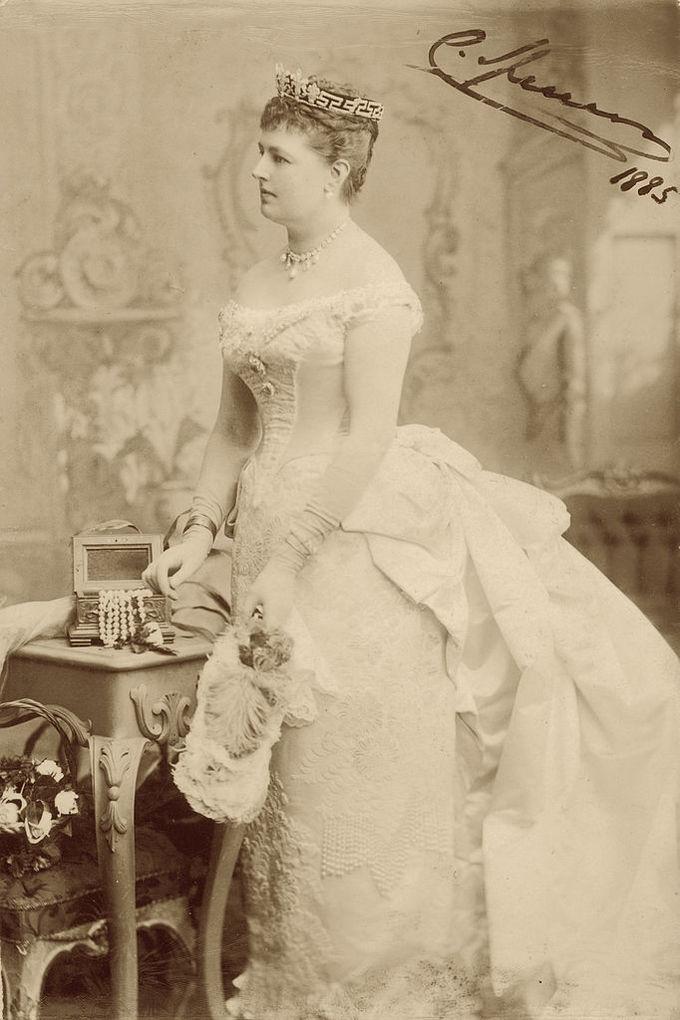Шарлотта Спенсер, 1885 р.