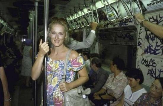 Знаменитости, которые были замечены в метро