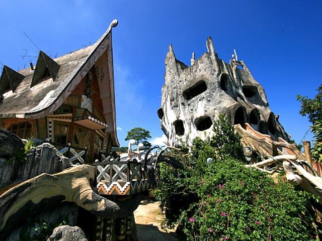 Самі незвичайні будинки у світі: «Crazy house», В'єтнам