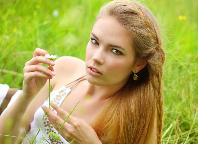натуральный макияж, природа, весна, девушка, макияж, пикник