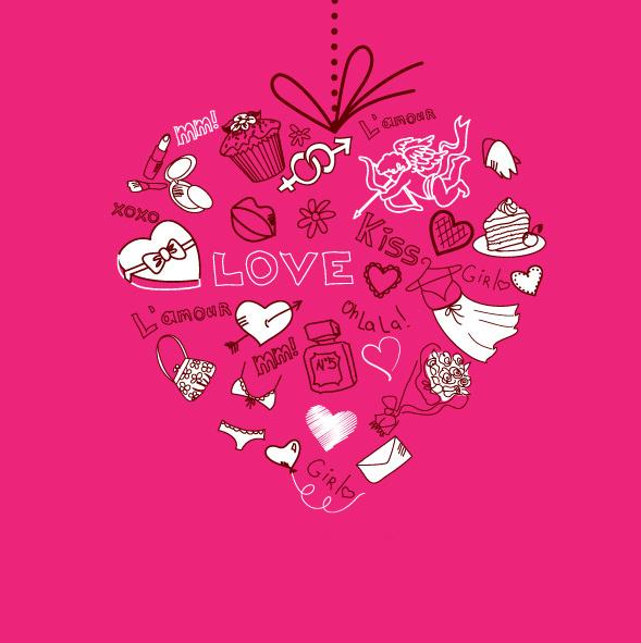 Прикольная открытка с Днем Св. Валентина 2015