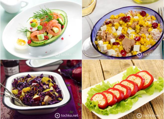 Салаты на новый год 2017 рецепты с с красной рыбой