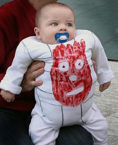 Устрашающий костюм на Хэллоуин