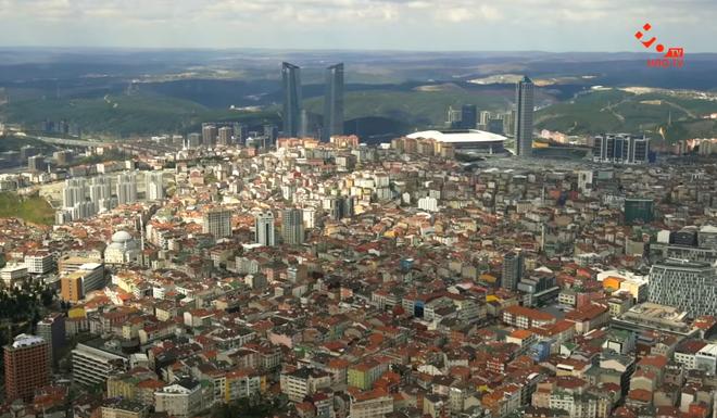 Сапфир - лучший смотровая площадка Стамбула