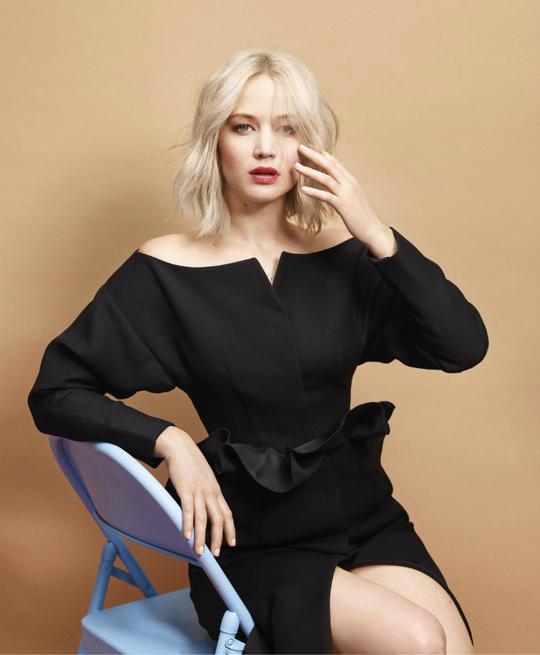 Дженніфер Лоуренс для Harper's Bazaar