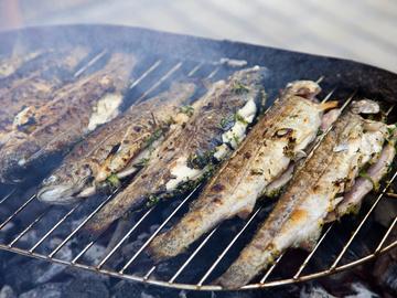 Риба на грилі