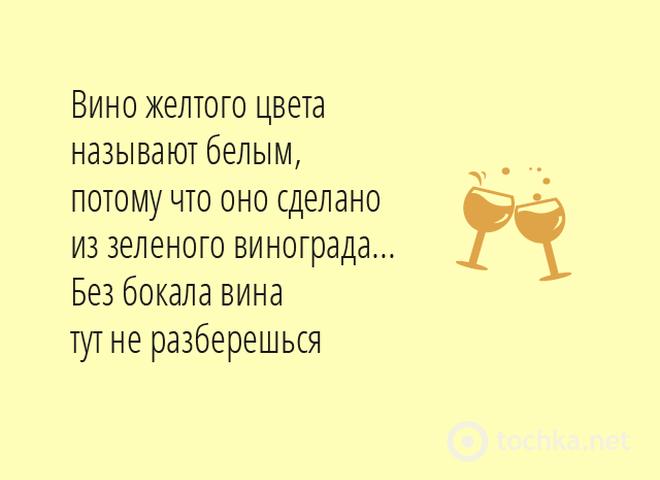 25 пьянящих цитат о вине