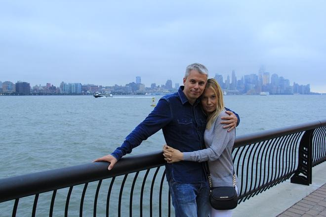 Андрей Доманский с женой