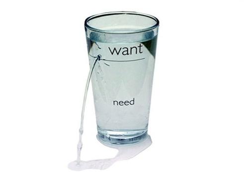 Что мы хотим и в чем нуждаемся?=)