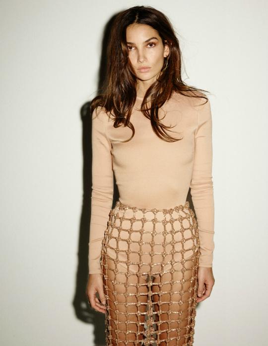 Лілі Олдрідж для Vogue Spain