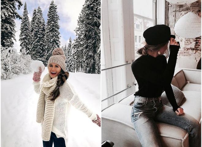 Прически под шапку на зиму