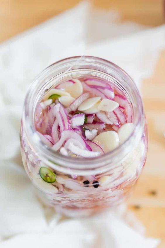Маринованный лук: рецепт