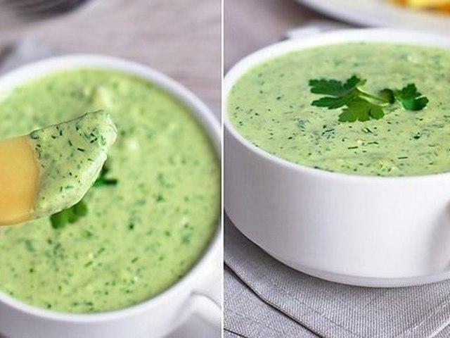 Зеленый соус - tochka.net