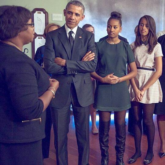 семья Барака Обамы