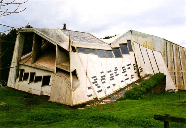 Самі незвичайні будинки у світі: «Ламаний» будинок, Чилі
