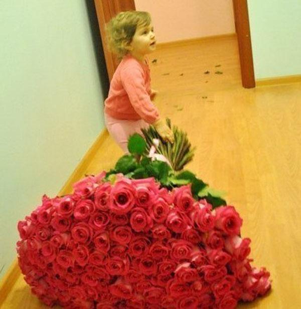 Розы для маленькой принцессы