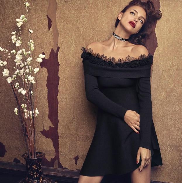 Ірина Шейк в рекламній кампанії Blumarine