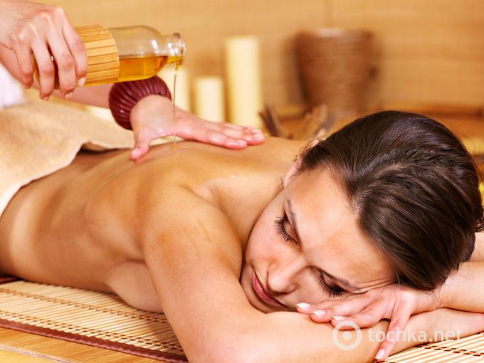 олія для массажа