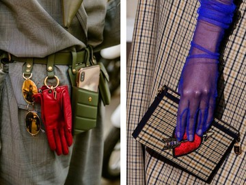 Модные перчатки 2020-2021