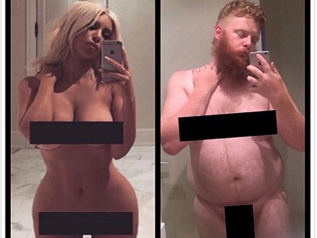 Голая Ким Кардашьян стала новой звездой мемов