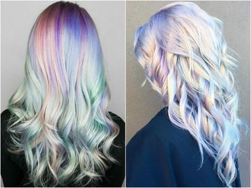 Голографічне фарбування волосся