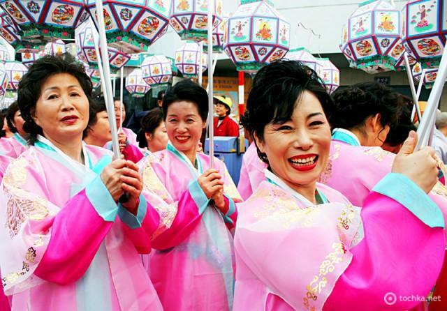 Страны, где не празднуют Новый год. Южная Корея