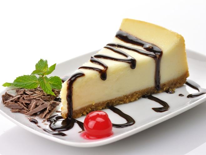 Чизкейк из тврога и шоколада - вкусный и легкий десерт