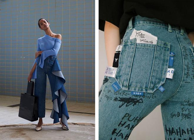 Наймодніші джинси 2021-2022