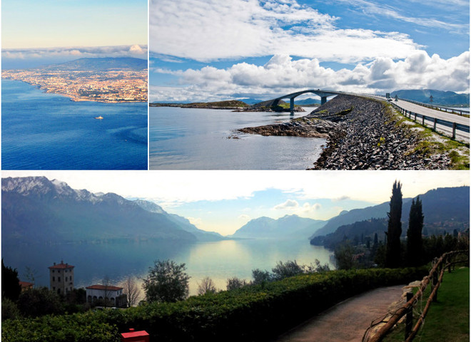 Самые красивые маршруты Европы