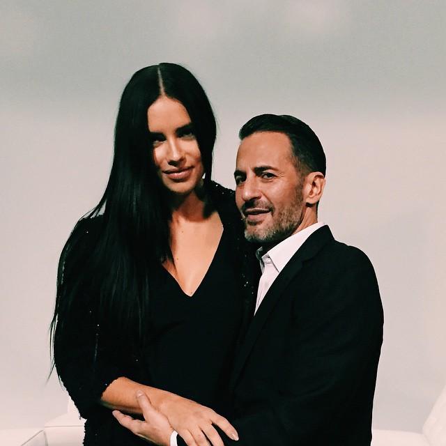 Адриана Лима представит новый парфюм от Marc Jacobs