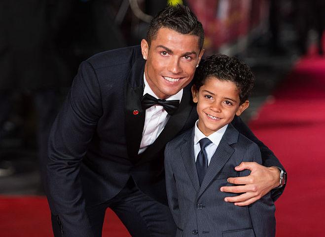 Кріштіану Роналду та його син