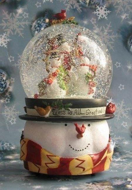Чудесные снежные шарики