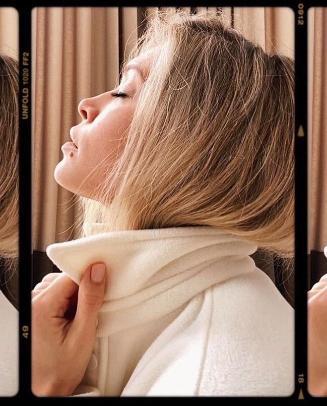 Web-фотосессия Веры Брежневой