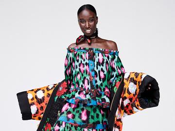 Яркая осень: полный лукбук коллекции Kenzo x H&M