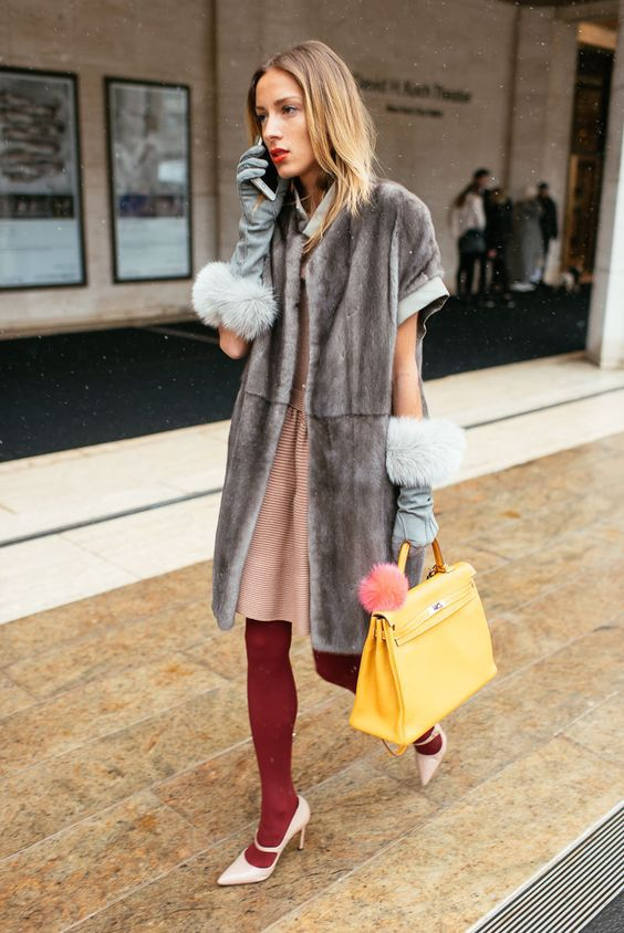 Модні рукавички на зиму