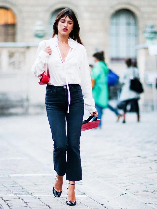 З чим носити чорні джинси: 6 ідей від стрітстайл-знаменитостей