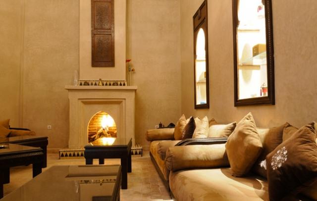Достопримечательности Марракеша: отель Riad Bahia