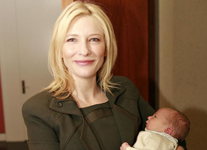 Кейт Бланшетт с сыном Игнатиусом
