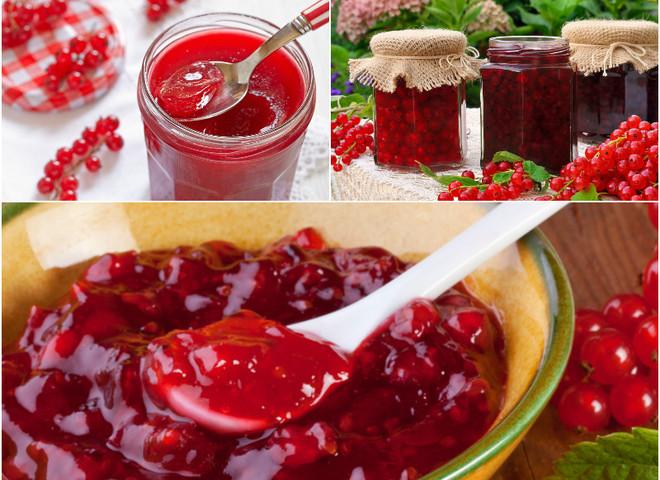 рецепты варенья из белой и красной смородины