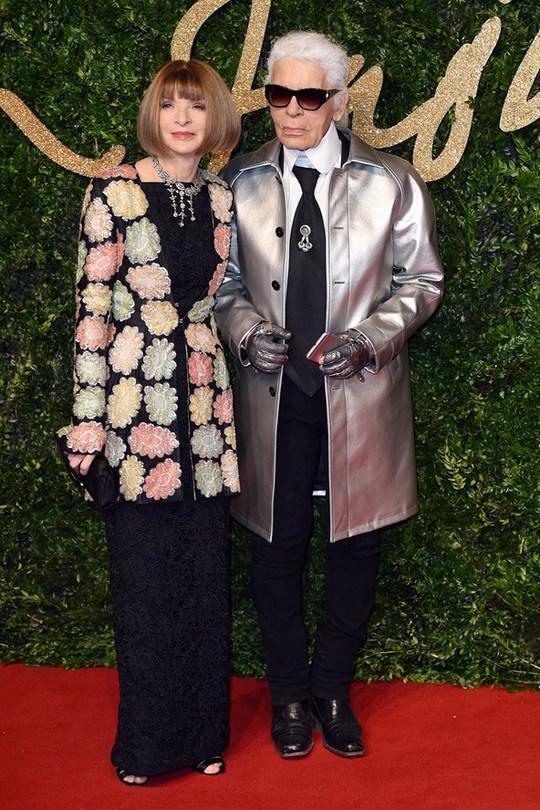 British Fashion Awards 2015