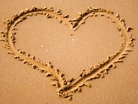 Песочное сердце