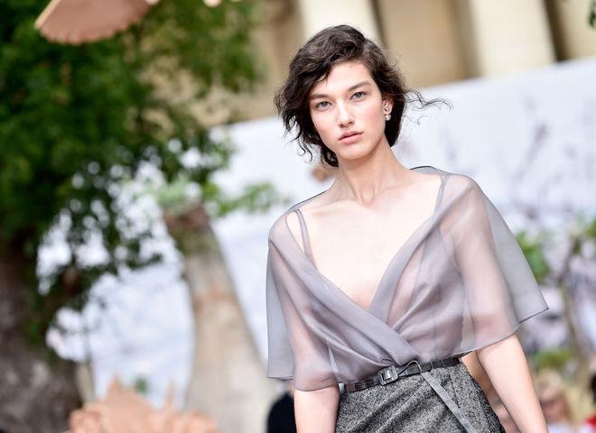 Бьюти-образы с показов на Неделе моды в Париже