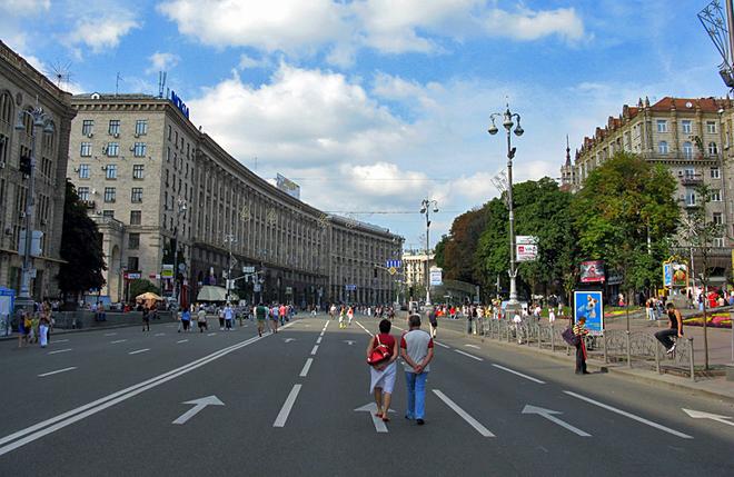 Гид по Киеву: Крещатик